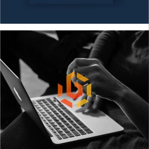 Cybersecurity Themed Logo
