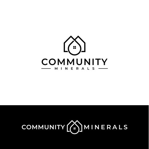 Minimal logo for Community Minerals