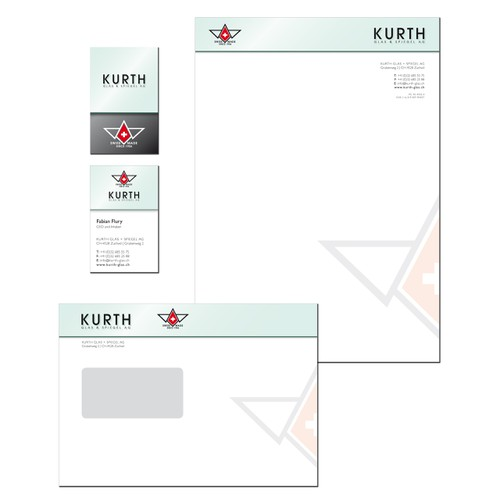 I'm looking for the perfect business card & notepaper ..