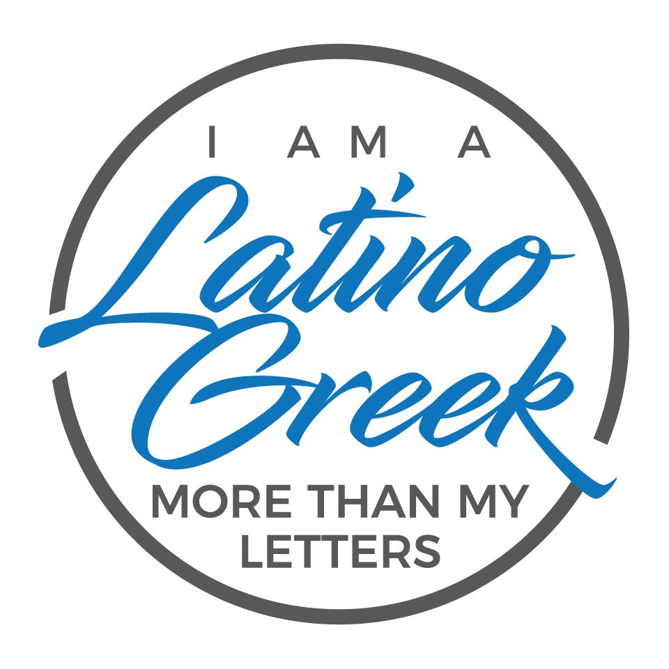 Design a powerful logo for the I am a Latino Greek Campign