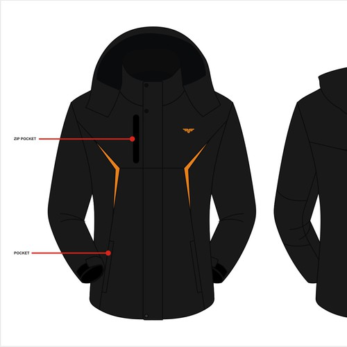 Winter jacket for freedom apparel