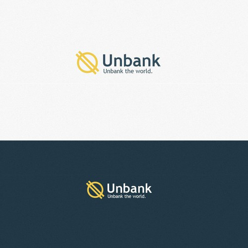 Logo for banking business