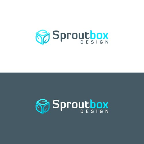 Cutting Edge Logo for SproutBox