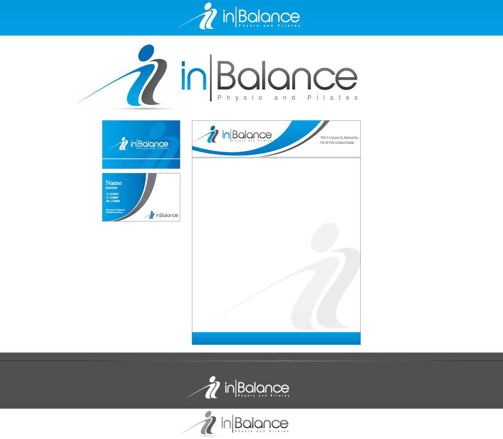 Help In Balance Physio and Pilates with a new logo