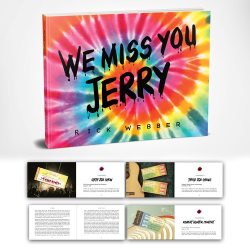 Wonderful time working on a fan book about Jerry Garcia!