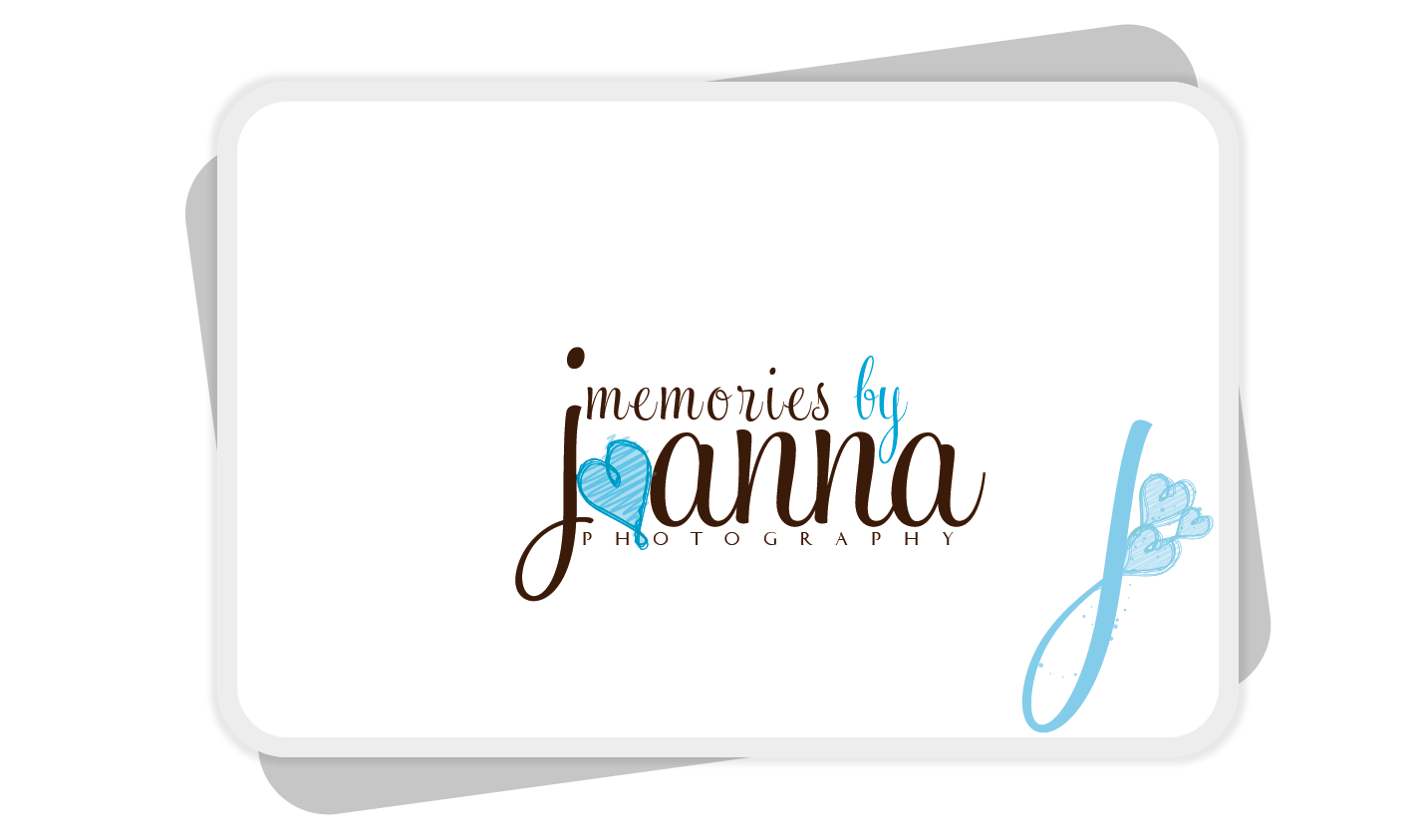 Help Memories By Joanna Photography with a new logo
