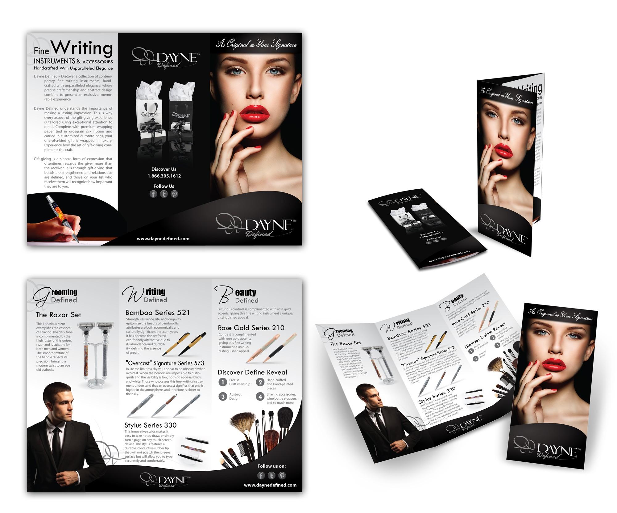 Brochure needed for launch of  Luxury Brand