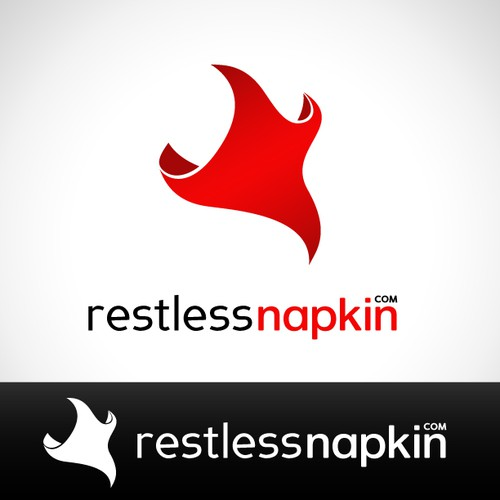 Logo concept for Restless Napkin