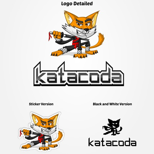 Mascot Design for katacoda