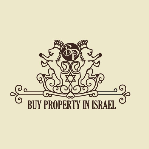 Create a catchy and elegant logo for Israel Real Estate Company