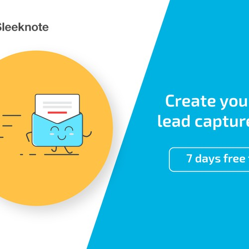 Email banner ads for lead generation tool