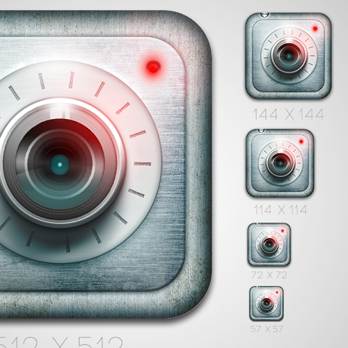Icon Design for iOS Photo Locker