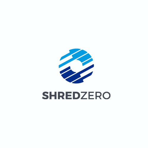 Logo design for a data shredding company