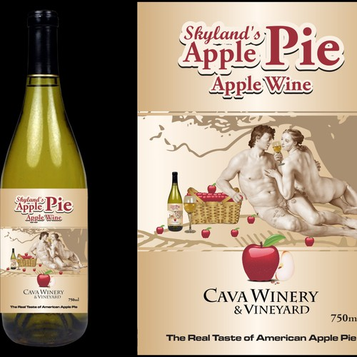 Create the next product label for Cava Winery & Vineyard
