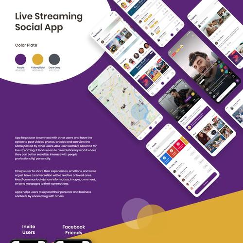 Live Streaming Social App