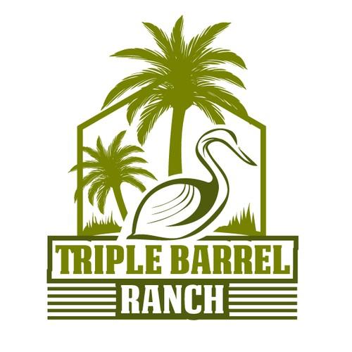 Logo for a Ranch