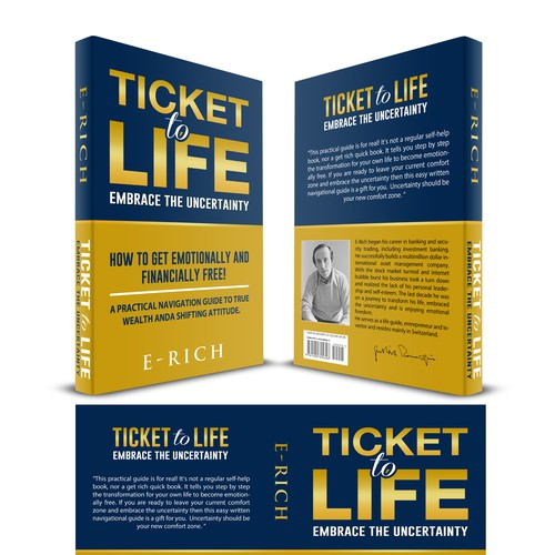 Create a Bestseller Brand and Book Cover inspiring for an emotional and financially free lifestyle.