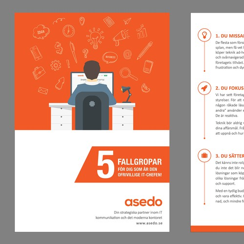 Brochure Design For ASEDO