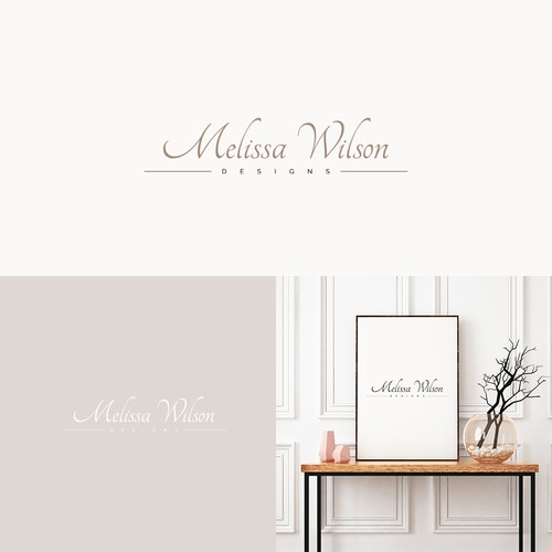 Logo Melissa Wilson Designs