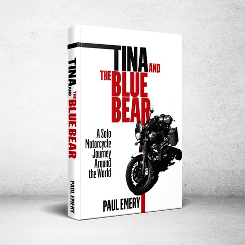 Book cover design for Tina and the Blue Bear