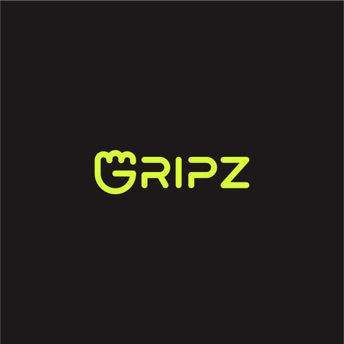 Fun and cool logo for fitness product: GRIPZ