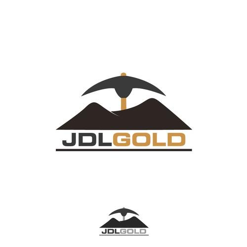 Bold logo for mining company