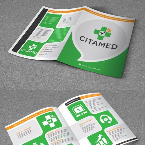 Bi-Fold Brochue for CitaMed