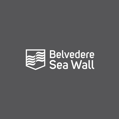 Logo concept for Belvedere Sea Wall