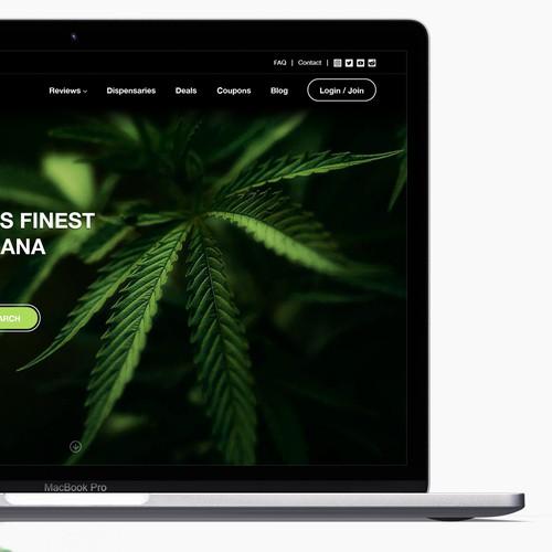 Marijuana & Dispensary Review Site