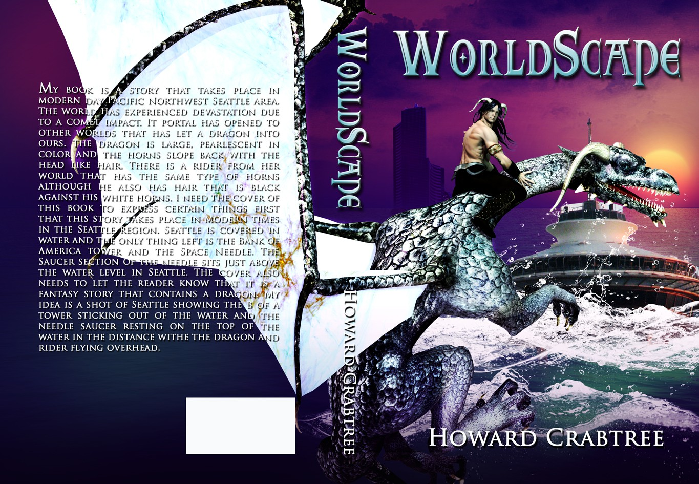 Create the next book or magazine cover for Howard Crabtree