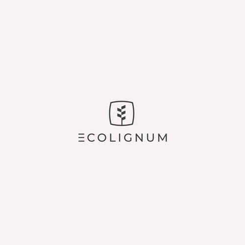 Eco Minimalist logo concept