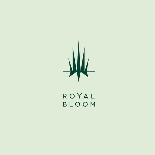 Cannabis cultivation brand logo