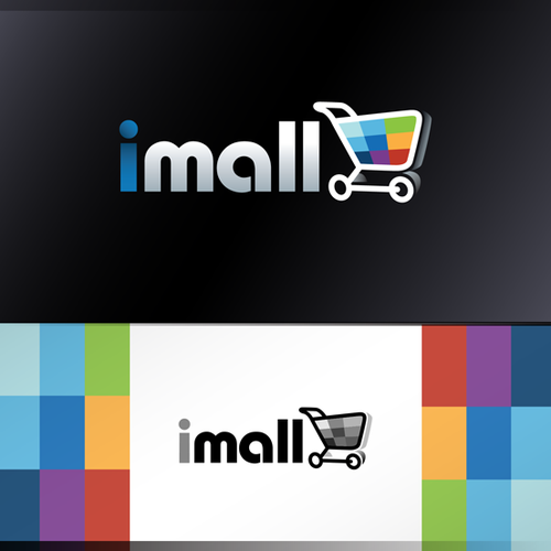 Create a captivating logo for iMall!