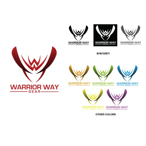 Create the next logo for Warrior Way Gear