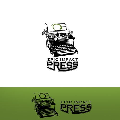 Logo for a publishing company