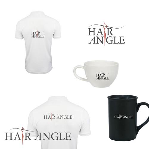 hair angle logo