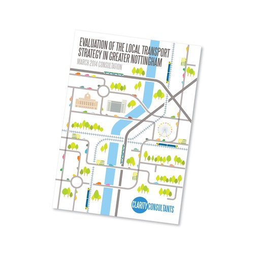 Consultation Report Front Cover and Other Parts on the Transport Sector of Nottingham City Centre