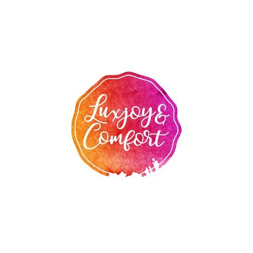 Watercolour Logo for a gift Company