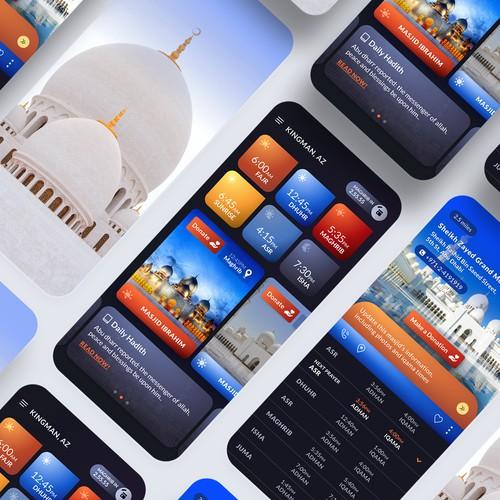 Religious app designs