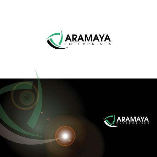Business card and logo for Aramaya.