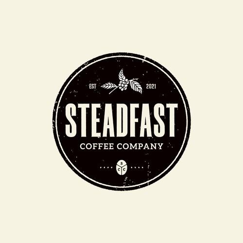 Bold Emblem logo for STEADFAST