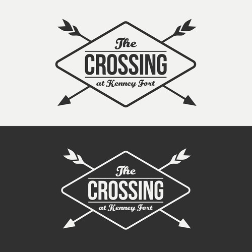 logo concept for the crossing