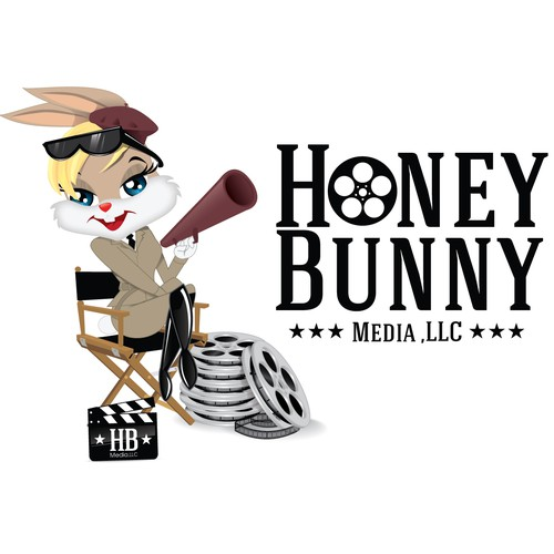 Create the logo for Honey Bunny Media