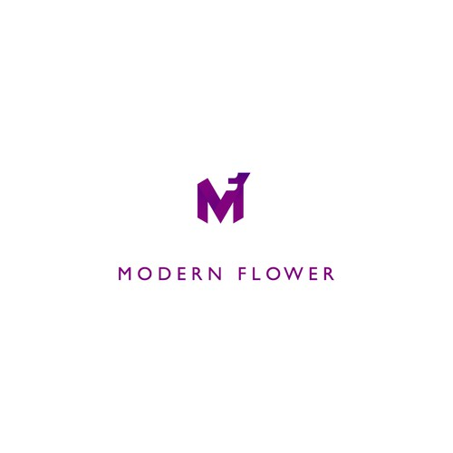 modern flower