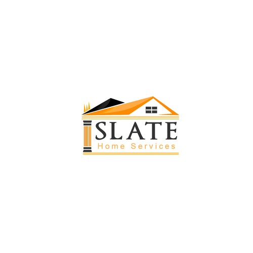 Create the next logo for Slate Home Services
