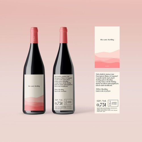 Wein Packaging Konzept
