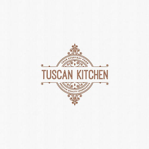 Logo design for an Italian restaurant