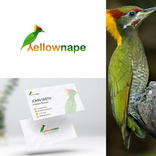 Yellow Nape logo design
