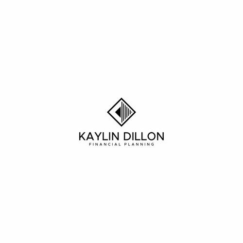 logo design for Kaylin Dillon Financial Planning