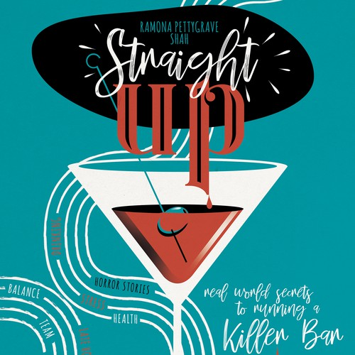 Straight Up - Book Cover